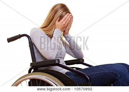 Anonymous Woman In Wheelchair