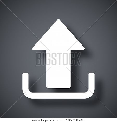 Upload Vector Icon