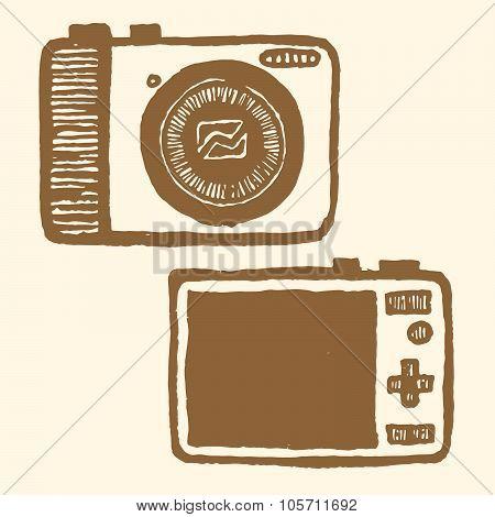 pocket-size digital camera