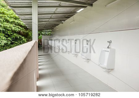 Urinals In The Open Air