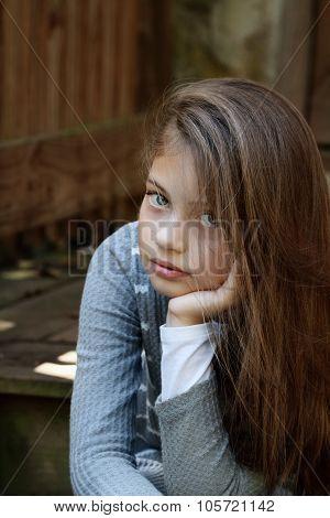 Beautiful Pre-teen Girl