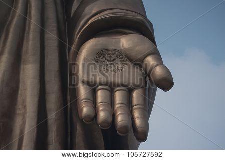Big Hand Buddha In Wuxi China