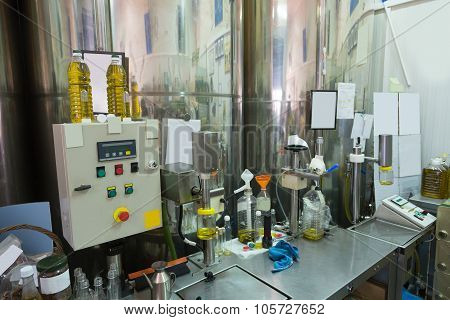 Small Olive Oil Factory,
