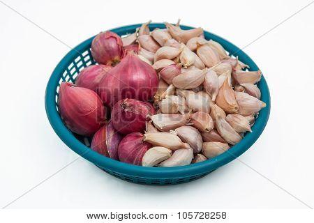 Shallot And Garlic.