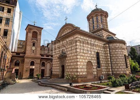 Curtea Veche Church In  Bucharest