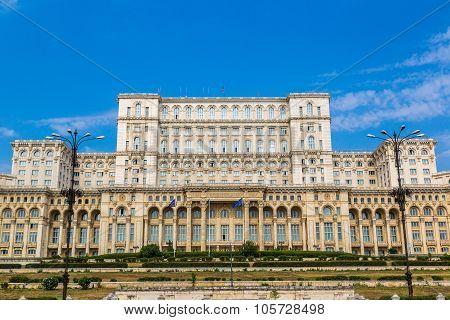 Parliament In Bucharest