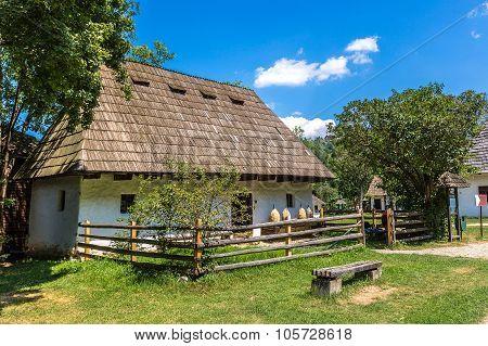 Astra Village Museum In Transylvania