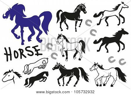 Horse Paintings And Icons