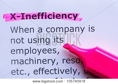 X Efficiency