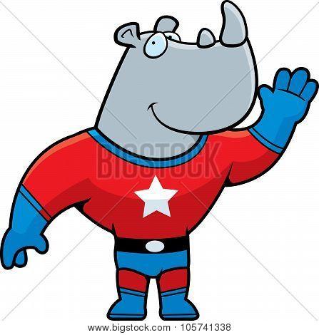 Rhino Superhero