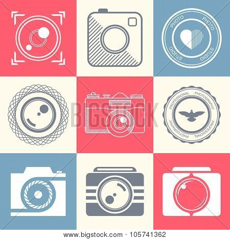 Set Of Vector Icons And Badges Photo