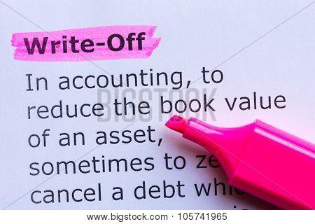 Write Off