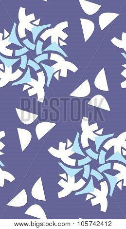 Snowflakes And Semi-circles