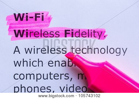 Wireless Fidelity