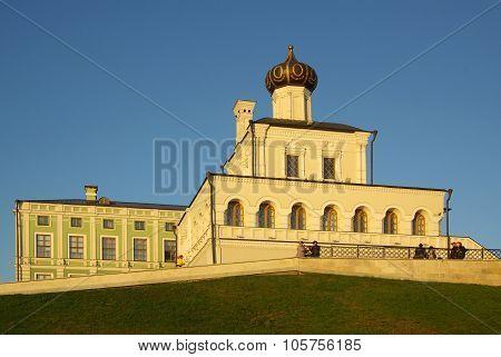 Palace Church In Kazan Kremlin