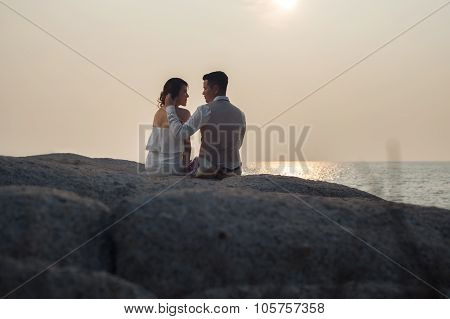 Pre Wedding Outdoor Romantic
