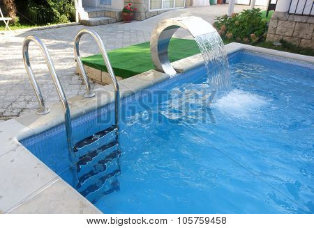 Pool In Patio