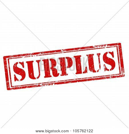 Surplus-stamp