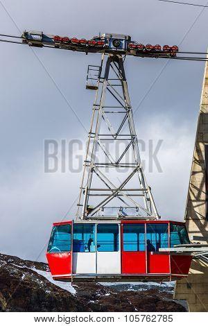 Cable Car To Matterhorn In Zermatt