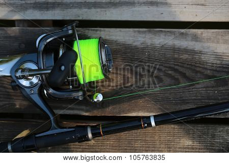 Fishing Spinning Rod And Reel