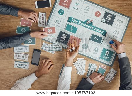 Business Challenge Board Game