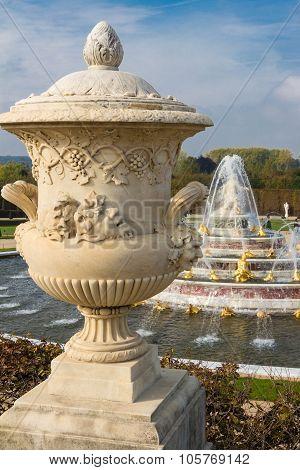 The Vase Of Versailles Castle.