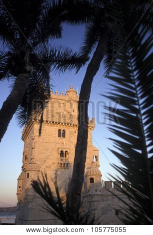 Europe Portugal Lisbon Torre De Belem