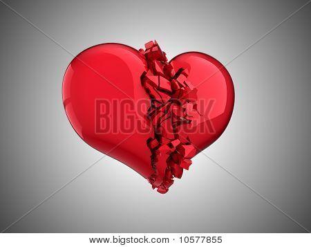 Broken Heart - Unrequited Love, Disease