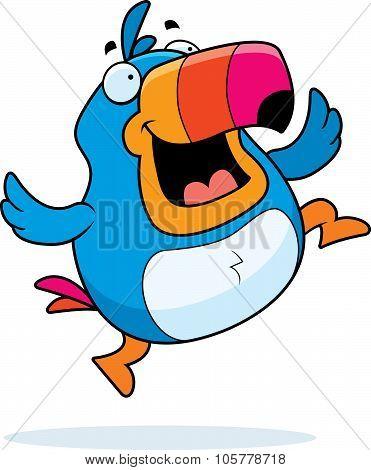 Toucan Jumping