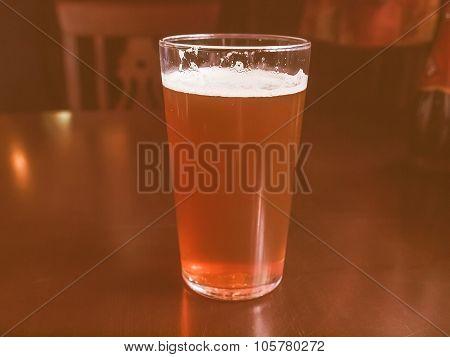 Retro Looking Bitter Beer