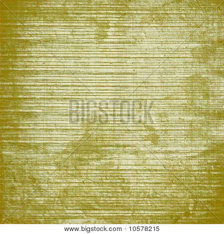 Yellow And White Slatted Wood Background