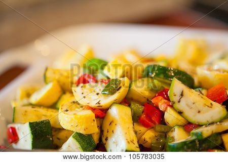Herbed Vegetable Plate