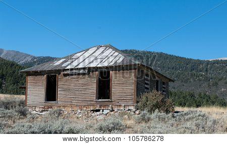 Ghost town at Gilmore Idaho