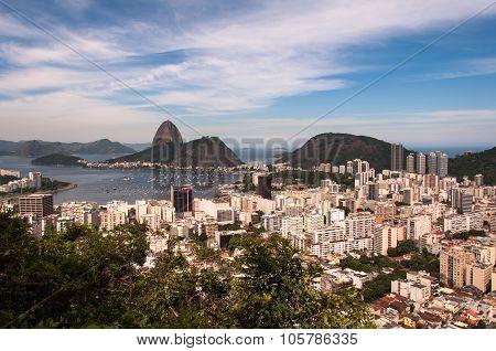Rio de Janeiro, Botafogo, and Sugarloaf Mountain