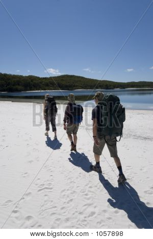 Three Hikers In Australia 3