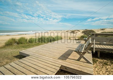 Scenic Punta Del Diablo Beach