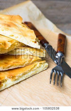 Traditional Georgian Dish - Khachapuri