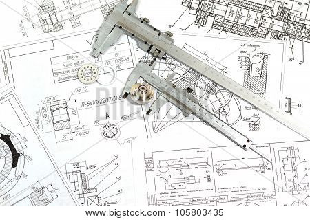 The Drawing, Details And Caliper
