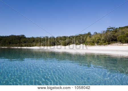 Landscape Of Lake Mckenzie 1