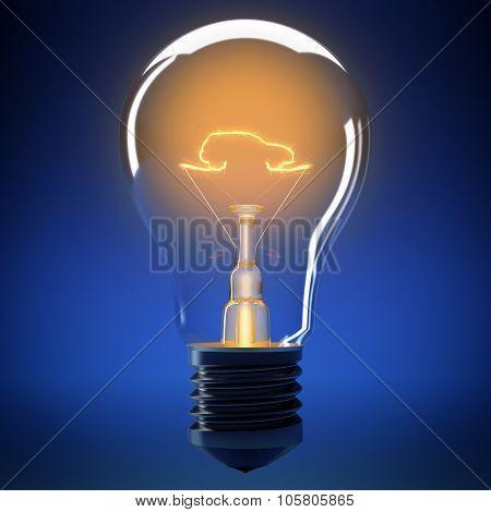 Bulb light car