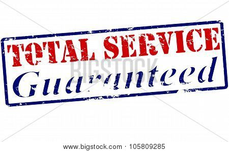 Total Service Guaranteed