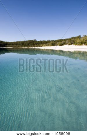 Portrait Of Lake Mckenzie 3