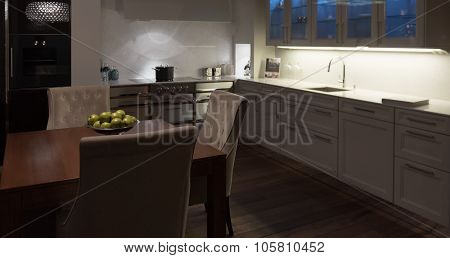 Stylish Elegant Kitchen Diner
