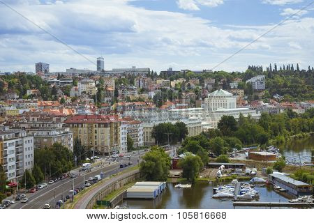 View From Vysehrad National Cultural Monument - The Old Burgrave's Office