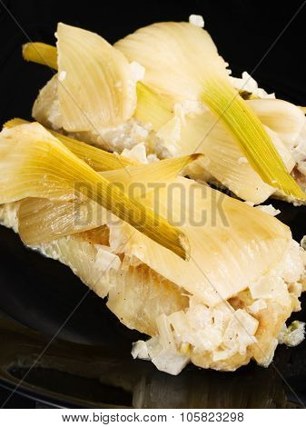Baked Whitefish With Fennel