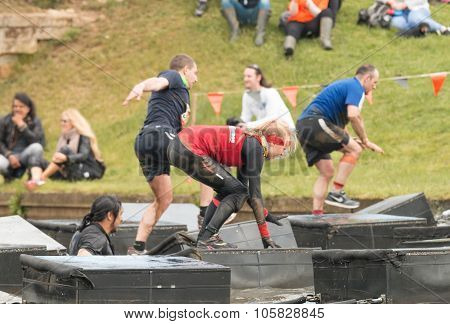 Tough Mudder 2015:  Balancing Act