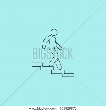 down staircase symbol