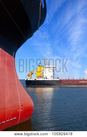 Ships On Sea