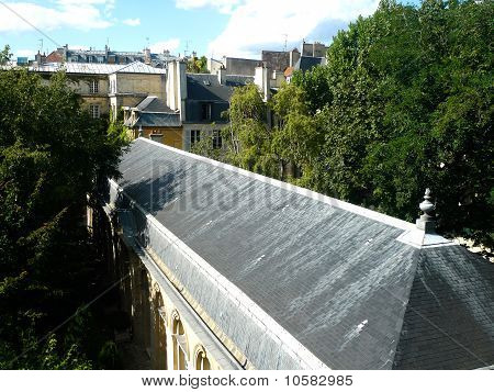 Paris and historic buildings