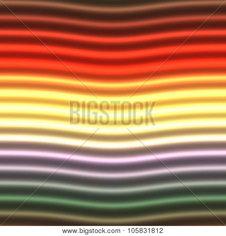 Abstract colorful blurred waves background